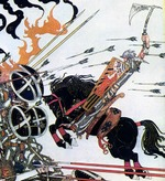 Kay_nielsen_knight_hitting_shield_w