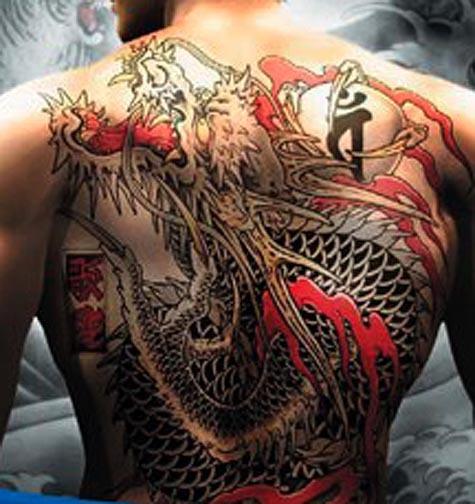 Anggota Triad sangat bangga memakai tatto sejak Dinasti Qing