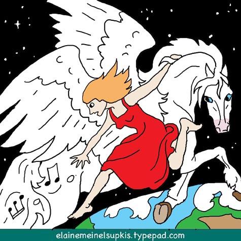 Pegasus_and_loss_of_music